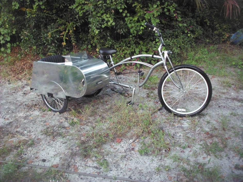 Bicycle sidecar kit